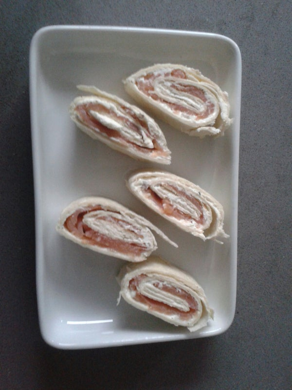 Quick, Cheap and Easy Salmon Rolls
