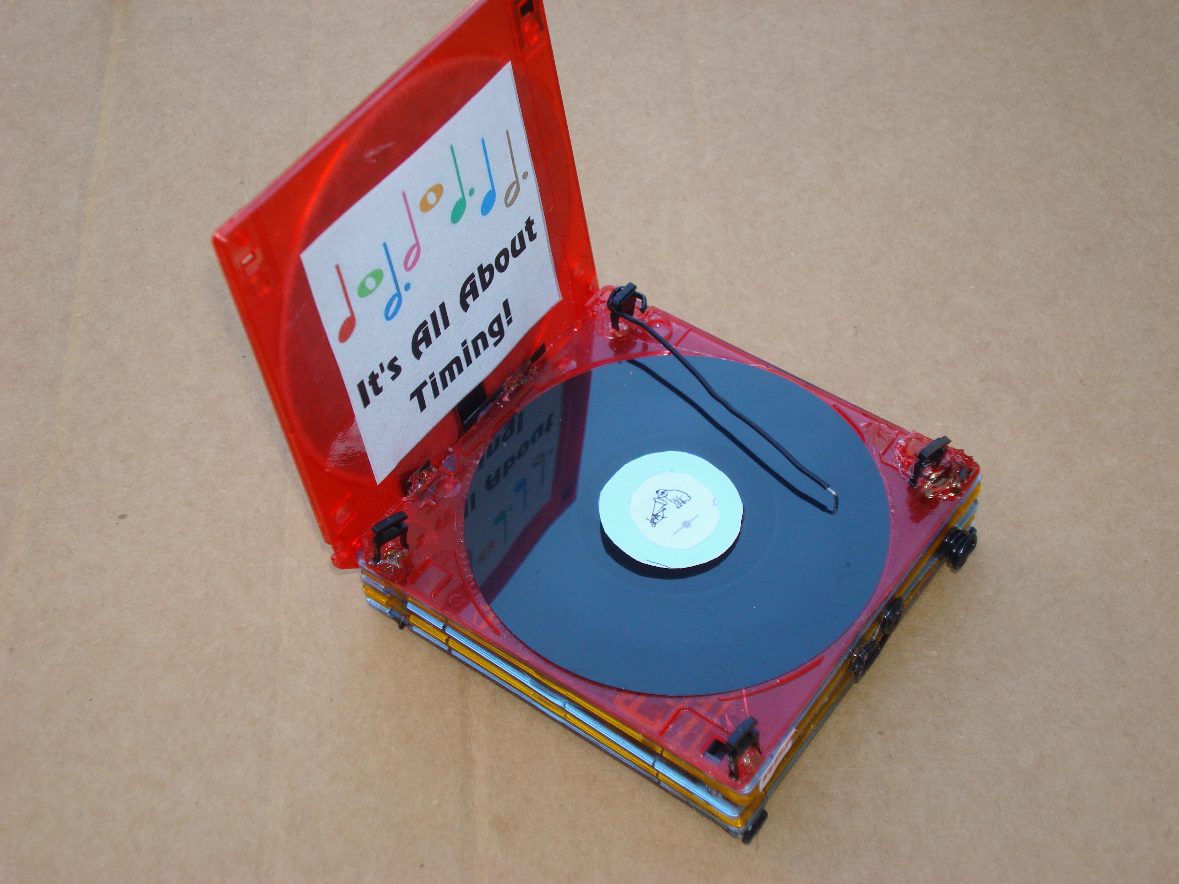 Mini RCA Record Player