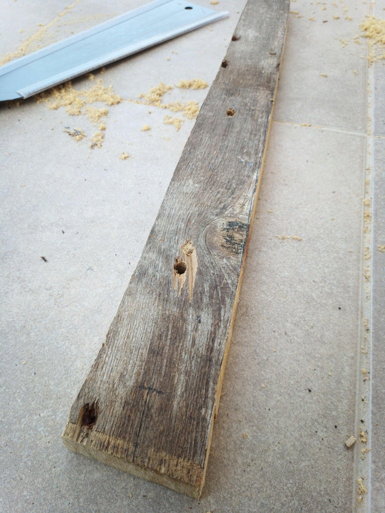Sawing the Fingerboard