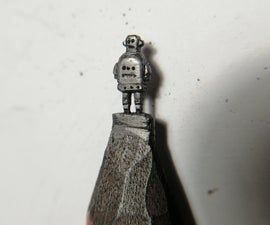 Tiny Pencil Robot