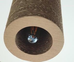 Tube Lamp Cardboard