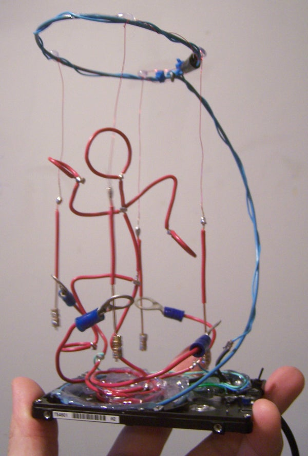 Twitchy II: Dancing Wireman