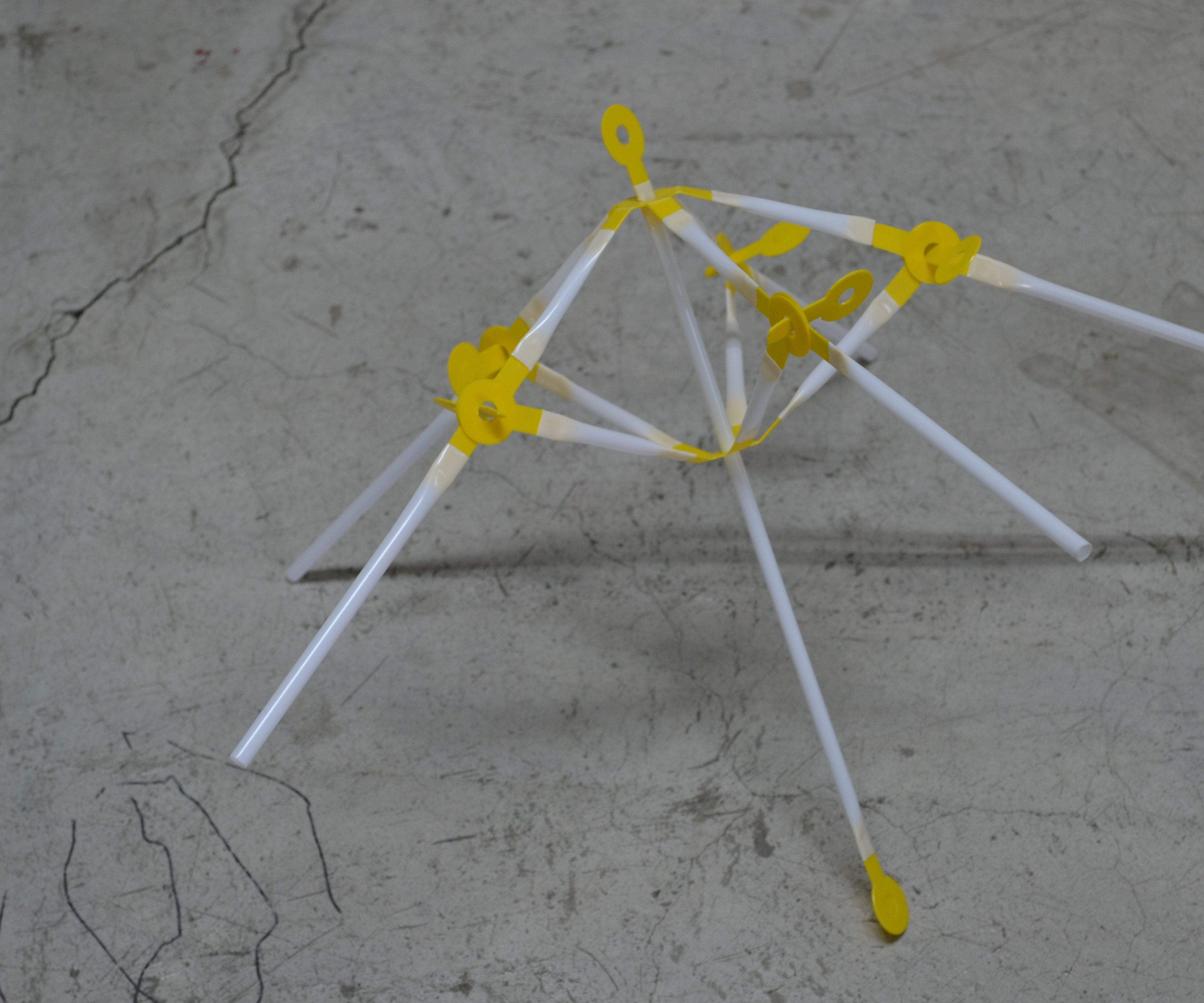 Como hacer una sombrilla de strawbees