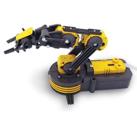 Modifications to Robot Arm for Opto Coupler Feedback, OWI 535, Edge Etc
