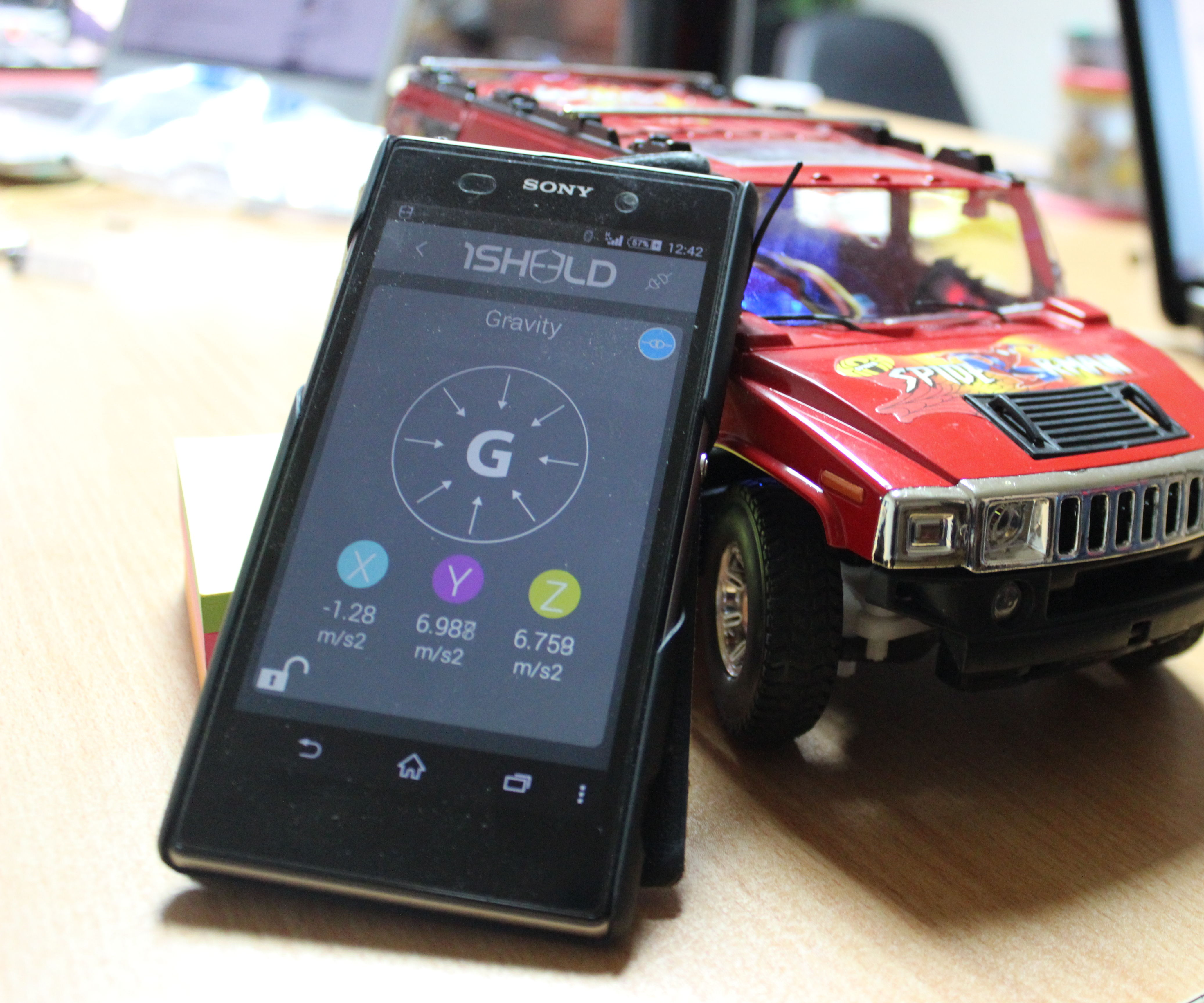 Hacking my RC Car using Arduino and Android Smart Phone