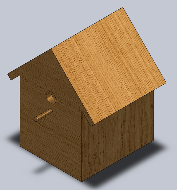 3D Modeling of Simple Objects in SolidWorks