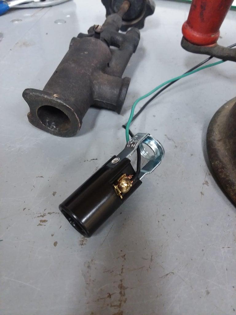 Burner Conversion for Lamp Socket