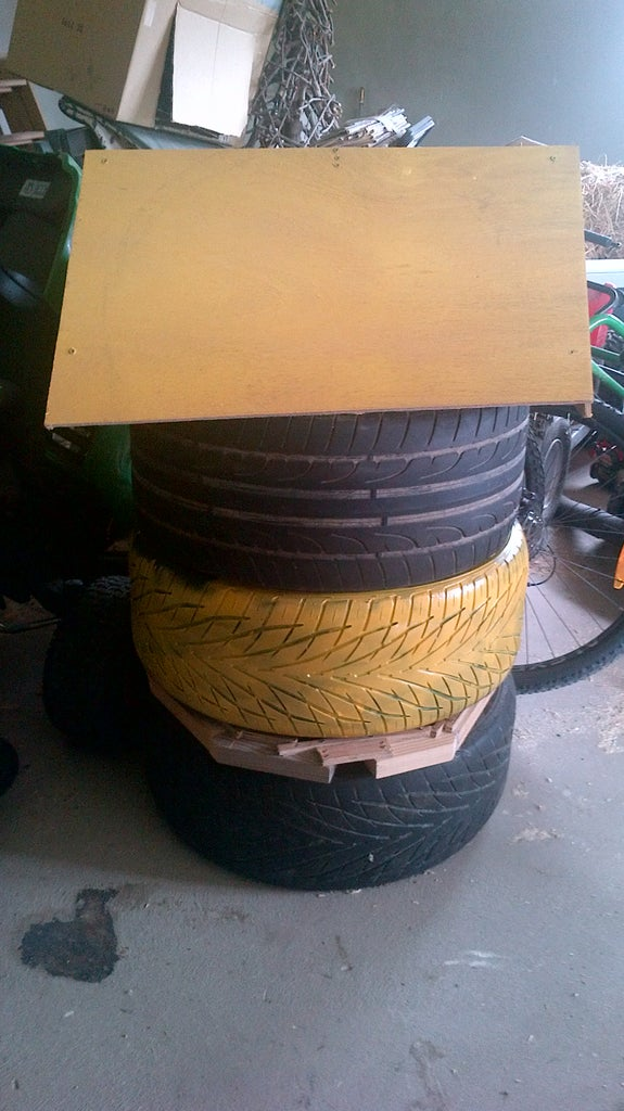 Beehive Made From Tyres