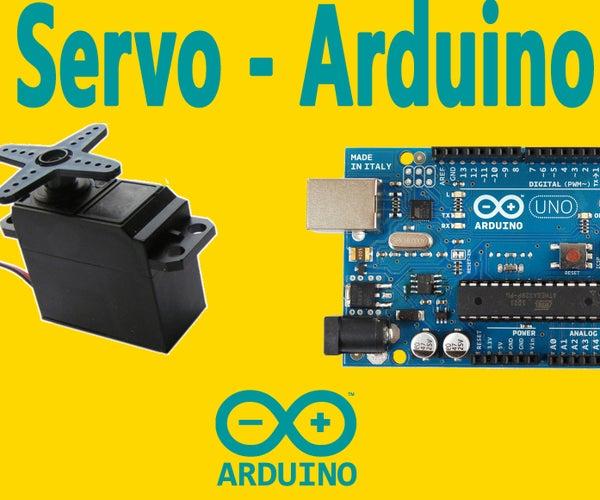 Arduino : How to Control Servo Motor With Arduino