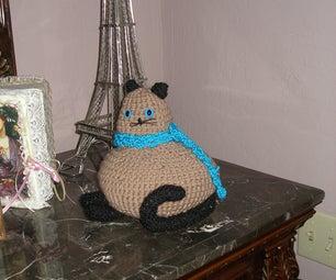 Crochet Fat Cat