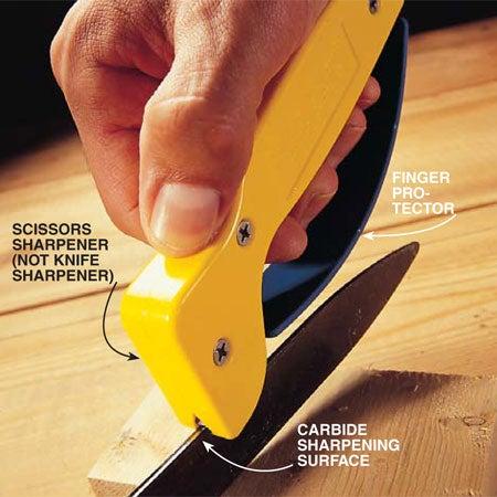 Easily Sharpen Your Garden Shears