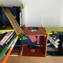 School Tool Table Organizer 4