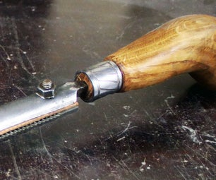 Restoring Rusty File and Making a New  Handle With Electroetching