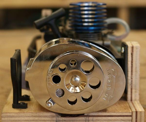Nitro Engine PENCIL Sharpener!