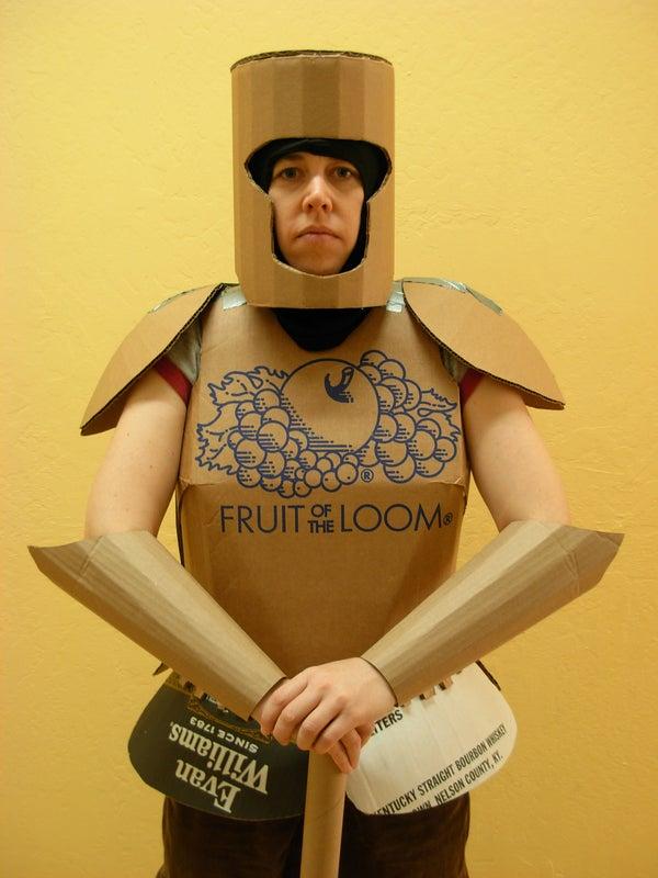 Cardboard Armor