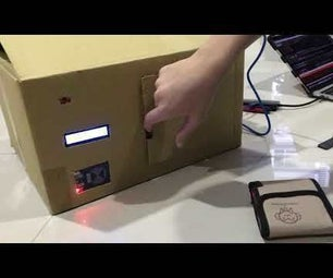 RFID Bank Safe