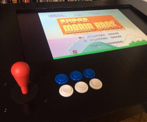 RasPi Two-Player Arcade Coffee Table