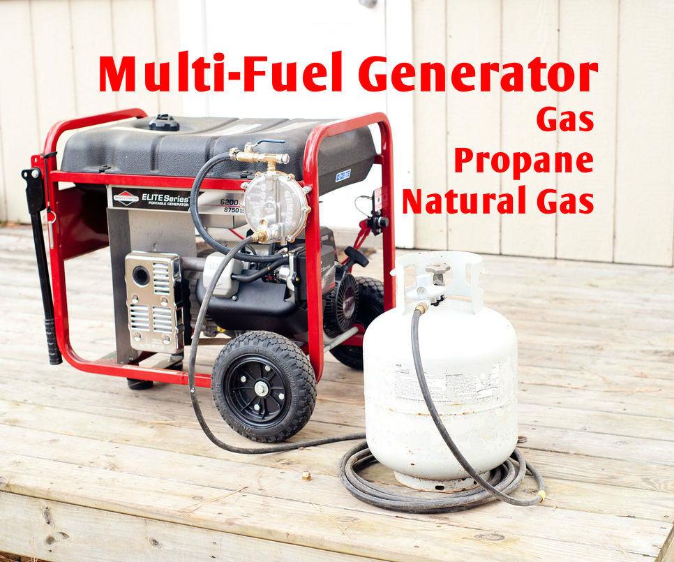 Multi-Fuel Generator - Gas Propane NG