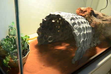 Tharrr Be Dragon Lairs! Concrete and Bubble Wrap