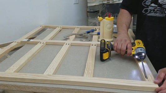 Cabinet Face Frame Construction