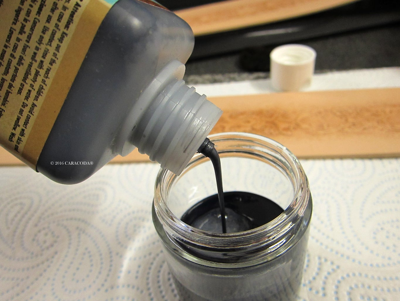 Dyeing Black