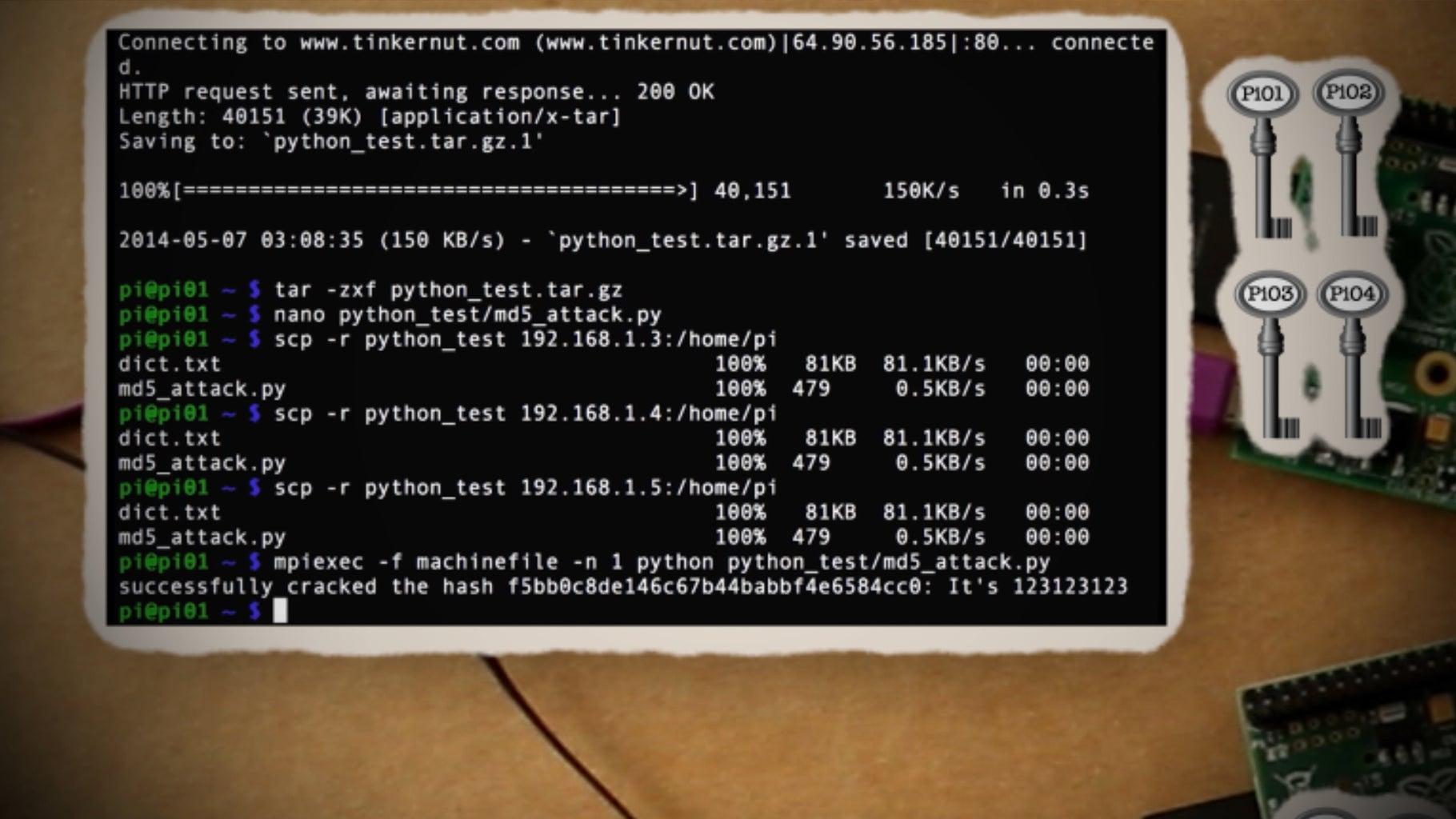 Running a Program on Your Supercomputer