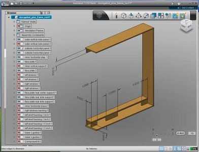 Autodesk 123D & Pine Frame