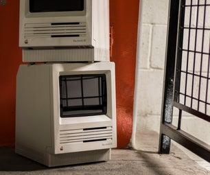 Macintosh SE复古经典中的IPad Mini