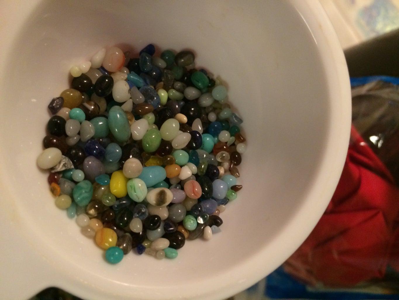 Adding the Beads....