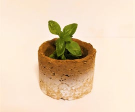 Sustainable + Recycled CARDBOARD Bowls (and Plant Pots!)