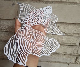 PaperCut- Fish