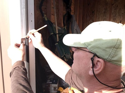 Installing the Door Handle and Keypad Lock