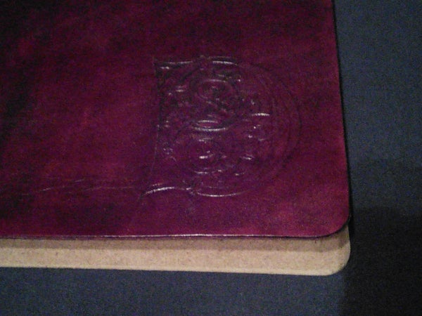Leather Cover Sketchbook With Hard Back