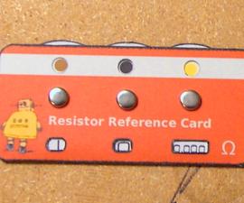 Make a Resistor Reference Card
