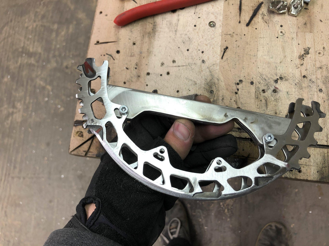 Crafting the Handle