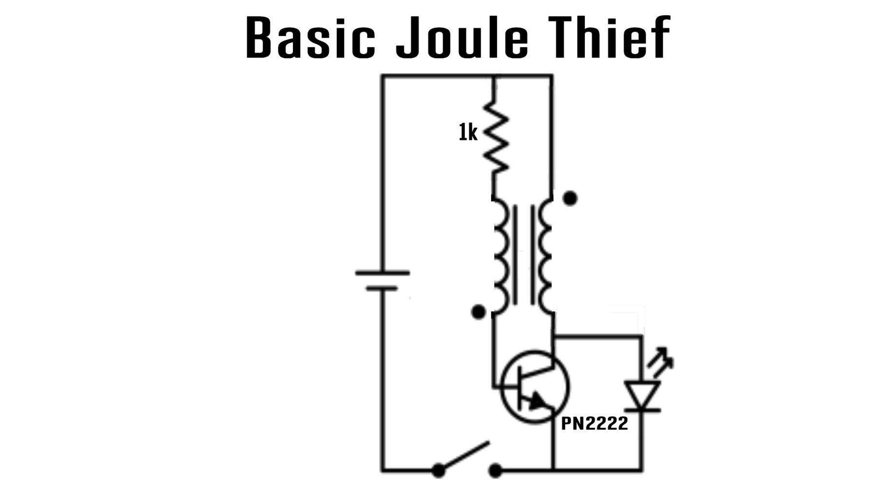 Background: How Does a Joule Thief Work?