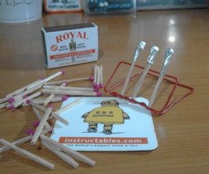 Rocket Science: Make a Matchstick Rocket!