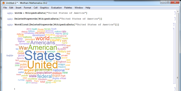 Constructing the Word Cloud
