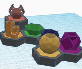 Self Watering Design Pot (Made With Tinkercad)