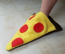 Easy Pizza Slippers