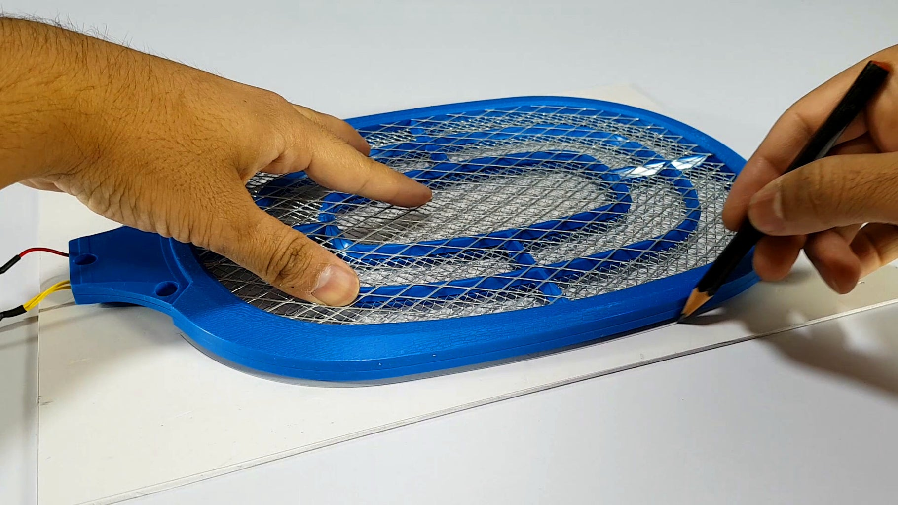 Disassemble Mosquito Swatter Racket
