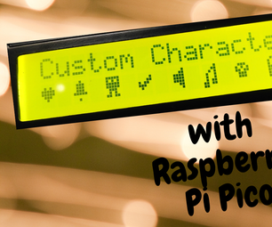Custom Characters With Raspberry Pi Pico and LCD 16*2 Display