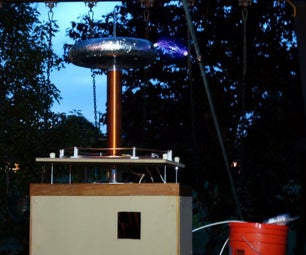 Can the Sparks From a Tesla Coil Roast Marshmallows?