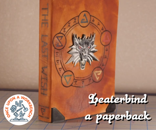 Leather Binding the Witcher Paperback