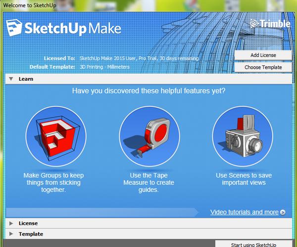 Google SketchUp Ideas