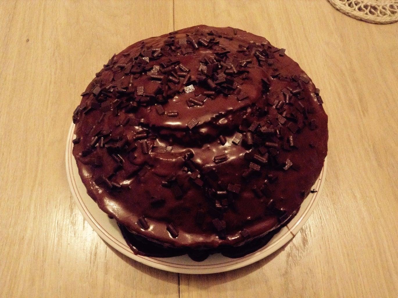 Prep for Chocolate Cake