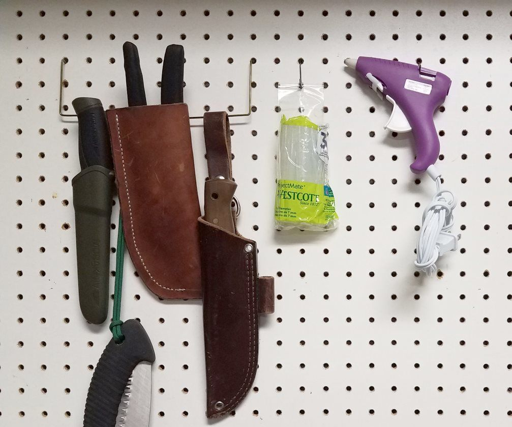 Cheap/Free DIY Pegboard Hooks