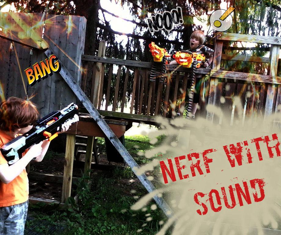 NERF Blaster with Sound FX