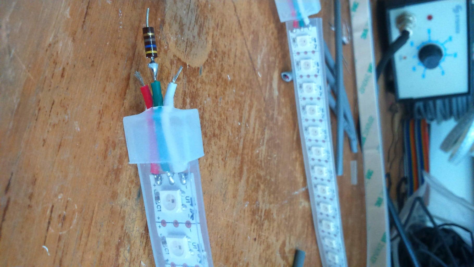 Installing Neopixel Strips