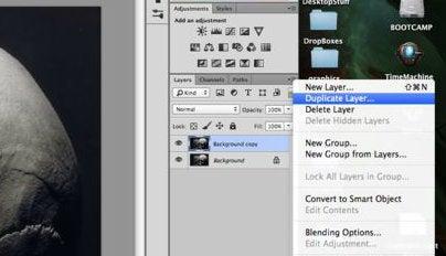 Make Two Duplicate Layers